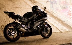 Картинка фотограф, мотоцикл, шлем, photography, photographer, Thirteen, Yamaha YZF-R6