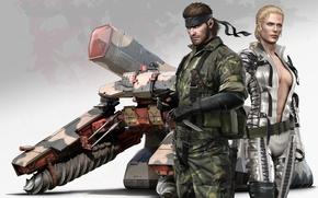Картинка Snake, Metal Gear Solid, Eater