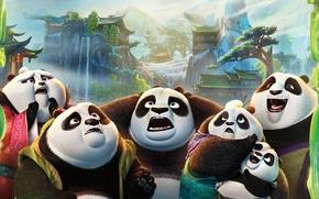 Картинка Action, Nature, Water, DreamWorks, Men, Girls, Wallpaper, Family, Old, Women, Kung Fu Panda 2, River, …