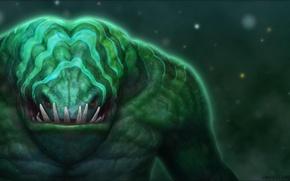 Картинка зубы, арт, Dota 2, Leviathan, Tidehunter, danpaz3d