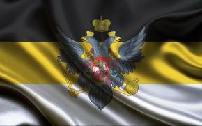 Картинка орел, флаг, Российская империя