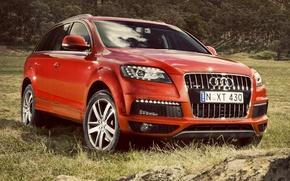 Картинка Audi, Ауди, quattro, Ку7, 3.0T