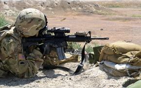 Картинка оружие, солдат, U.S. Marine Corps