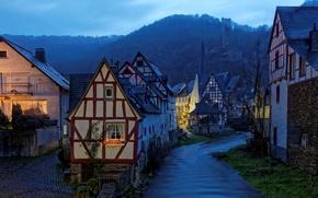 Картинка пейзаж, вечер, Германия, Monreal