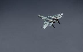 Картинка полет, истребитель, Су-35, реактивный, многоцелевой, сверхманевренный