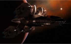 Картинка космос, звёзды, космический аппарат, EAS Castor