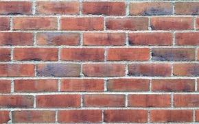 Картинка wallpaper, red, wall, texture, background, pattern, brick, joins