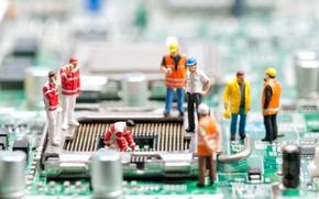 Картинка dolls, motherboard, repair simulation