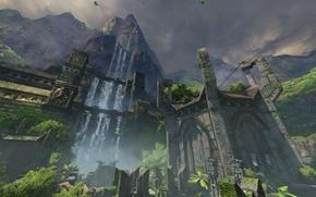 Картинка игры, карта, квейк, id software, Quake Champions, bethesda softworks, saber interactive