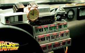 Картинка Часы, Back to the future, Машина времени, Time machine, Таймер