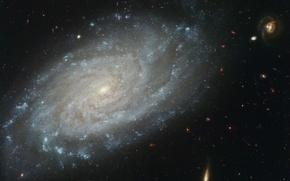 Обои космос, спираль, галактика