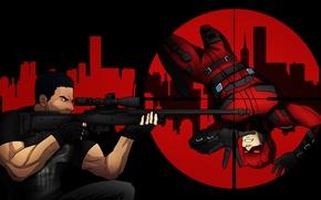 Картинка каратель, Daredevil, сорвиголова, Marvel Comics, punisher, Matt Murdock, Frank Castle