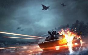 Обои EA Digital Illusions CE, Battlefield 4: Legacy Operations, Огни, Legacy Operations, Electronic Arts, DICE, Свет, ...