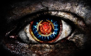 Картинка глаз, ржавчина, зрачек