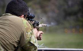 Картинка выстрел, солдат, Australian Army