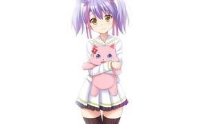 Картинка kawaii, girl, game, flower, dress, neko, anime, cat, beautiful, animal, asian, cute, manga, hunter, japanese, …