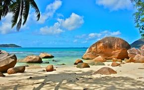 Картинка природа, океан, отдых, relax, Сейшелы, экзотика, Seychelles