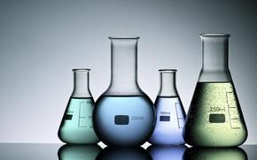 Картинка liquids, colored liquids, test tubes