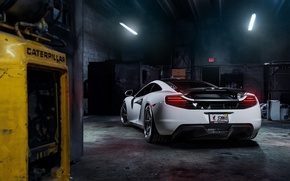 Картинка McLaren, MP4-12C, Tuning, Supercars, Wheels, Rear, ADV.1, ADV6 TS