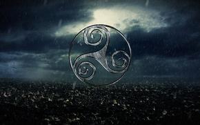 Картинка nature, sign, celtic, Trisken