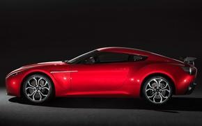 Картинка red, Aston martin, zagato