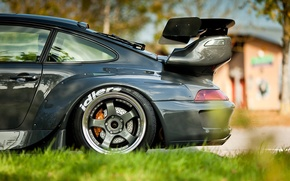 Картинка машина, авто, Porsche, боковая сторона
