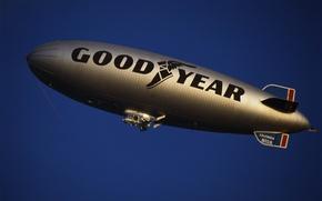 Картинка airship, дирижабль, Goodyear, dirigible