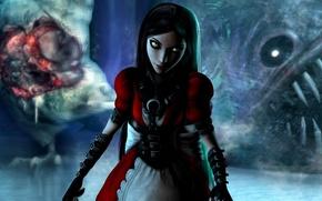 Картинка взгляд, девушка, платье, alice, madness returns, Alice: Madness Returns