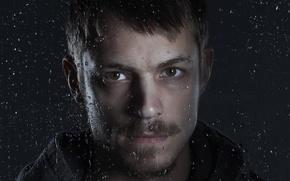 Картинка портрет, актёр, Joel Kinnaman