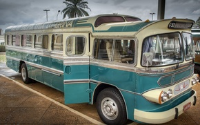 Картинка автобус, классика, GMC, 1951, ODC-210