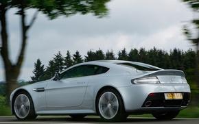 Картинка авто, Aston Martin, Vantage, ракурс, V12