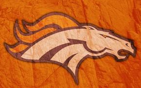Картинка пламя, лошадь, рисунок, логотип, голова, грива, американский футбол, эмблема, 2014, Denver Broncos