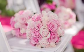 Картинка розы, бутоны, свадебный букет