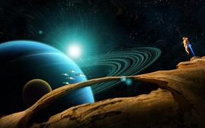 Картинка space, planet, forgotten