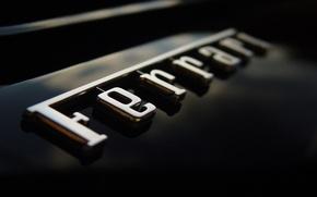 Картинка Машина, Надпись, Ferrari, Логотип