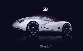 Обои bugatti, бугатти, gangloff, concept, концепт, supercar