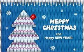 Картинка Happy New Year, Merry Christmas, 2015