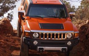 Картинка внедорожник, Hummer, H3