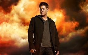 Обои Supernatural, Jensen Ackles, Сверхъестественное, Dean Winchester, Дженсен Эклс