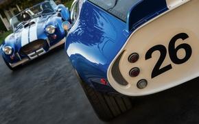Картинка классика, легенда, автомобили, синие, 1965, 1967, спортивные, гоночные, Shelby Cobra, Daytona Coupe