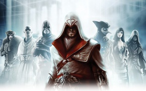 Картинка Assassins creed, brotherhood, братство