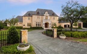 Картинка United States, Texas, luxury villa, French Provincial Home, Plano