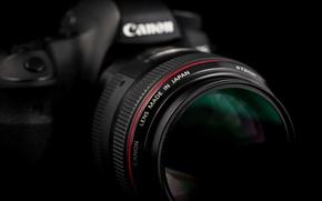 Картинка Canon, фон, камера