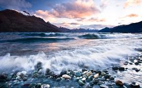 Обои море, горы, пейзаж