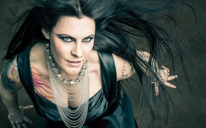 Картинка Hot, Sexy, Boobs, Nightwish, Floor Jansen, Symphonic metal