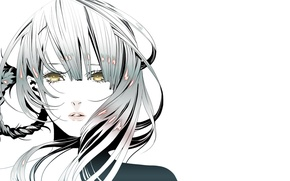 Картинка Anime, Beauty, Nier, Game, Face, Kaine