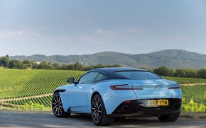 Картинка car, авто, Aston Martin, мартин, астон, вид сзади, nice, DB11