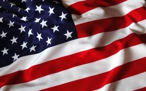 Картинка белый, красный, полосы, полоса, звезда, звёзды, символы, флаги, американский флаг, usa, american flag, u.s.a