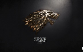 Картинка winter, Game of thrones, Stark, Martin George R.R.