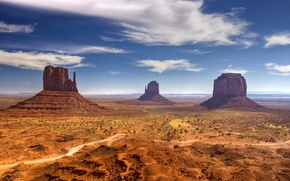 Картинка desert, view, mood